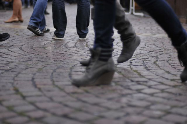 The beautiful cobblestone streets are just one of the beautiful things I miss about Germany.