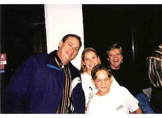 One of my most treasured photos.  Mike, me, Sybil, and Matt's little brother, Brad.  (He's not so little anymore!)